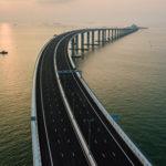 Maior ponte marítima do mundo é inaugurada na China