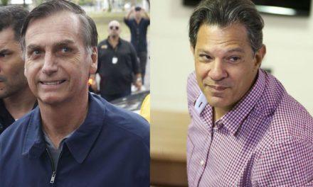 Bolsonaro faz avaliação médica; Haddad fala a jornalistas estrangeiros