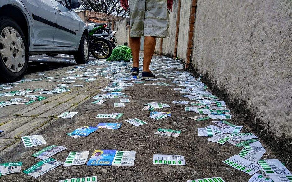 Limpurb recolhe 81,72 toneladas de lixo descartado no domingo de eleição