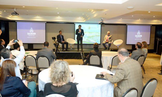 ACM Neto apresenta novo Centro de Convenções em São Paulo