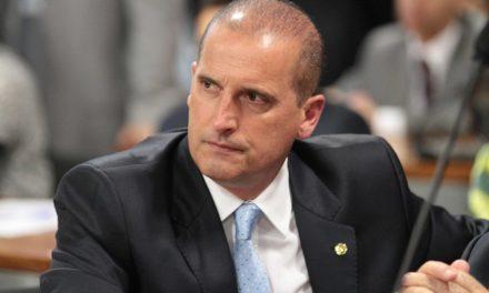 Onyx diz que sempre combateu corrupção e que não teme 'caneta Bic' de Bolsonaro