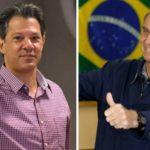 Haddad e Bolsonaro definem estratégias para semana final de campanha