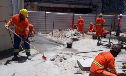 Intervenções na Rua Chile entram em nova fase