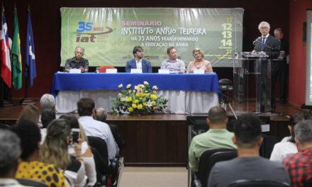 Seminário comemorativo dos 35 anos do Instituto Anísio Teixeira