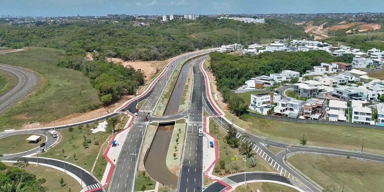 Entregue trecho da Avenida 29 de Março que liga Paralela à Estrada Velha do Aeroporto