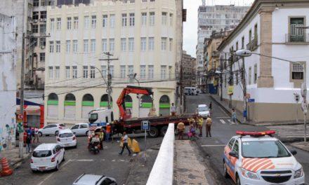 Modificações do trânsito no Centro Histórico irão durar em torno de 30 dias