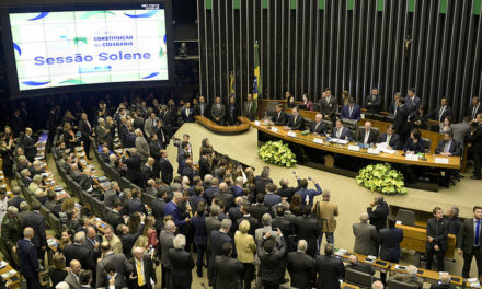 Em Brasília, vice-governador participa da celebração dos 30 anos da Constituição