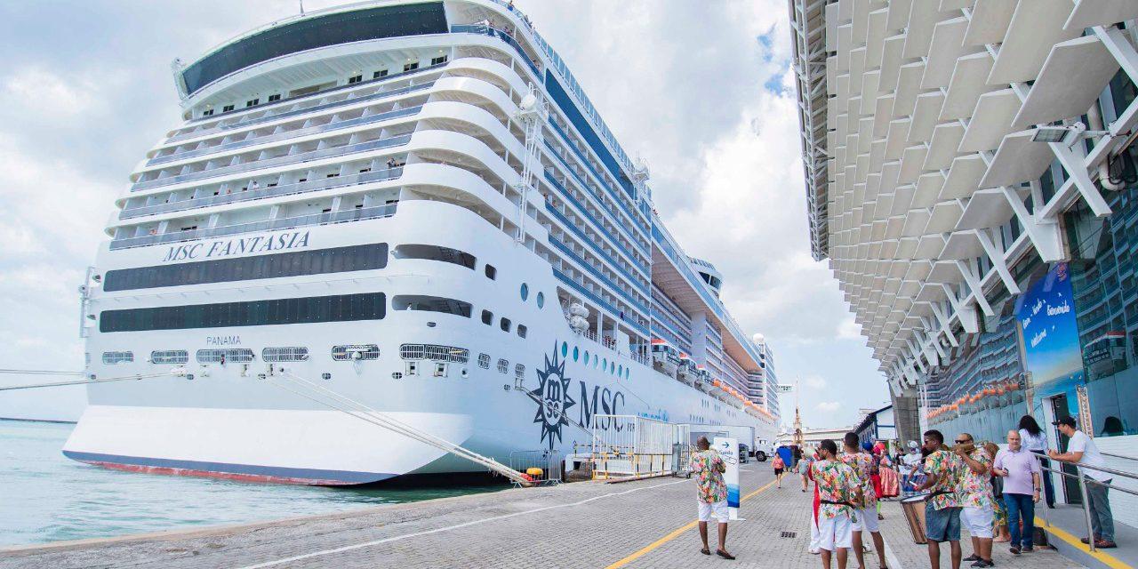 Temporada de cruzeiros fortalece a economia e o turismo na Bahia