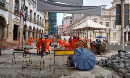 Trecho da Rua Chile é interditado para realização de obra de requalificação urbana