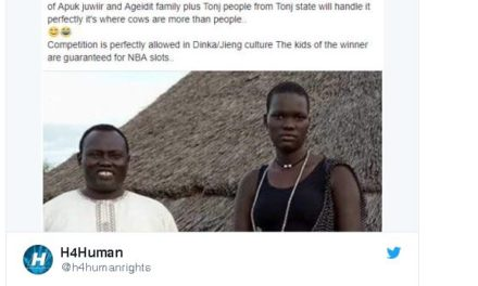 Facebook foi usado para leiloar uma adolescente em Sudão do Sul