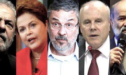 Lula, Dilma, Palocci e Mantega viram réus na Justiça Federal