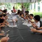Oficinas são opções de lazer para crianças no Palacete das Artes