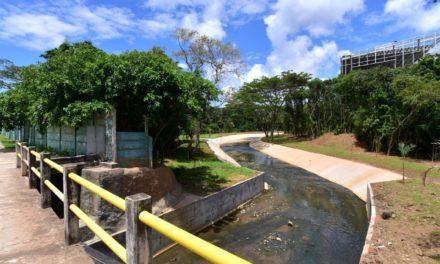 Prefeitura entrega obras de macrodrenagem no canal do Trobogy nesta sexta (14)