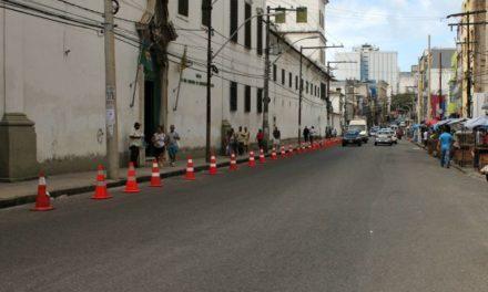 Prefeitura trabalha para garantir o ordenamento da Avenida Joana Angélica