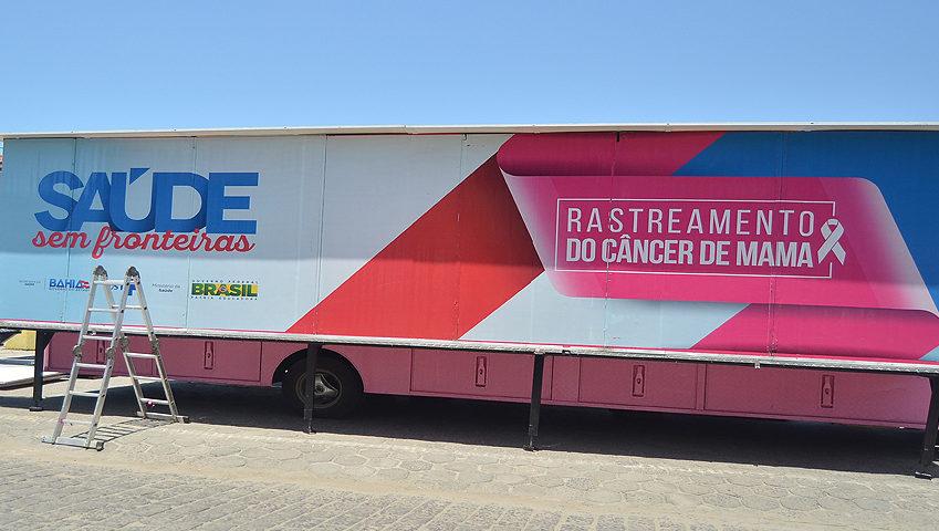 Rastreamento do câncer de mama atende em mais dois municípios da região de Santa Maria da Vitória