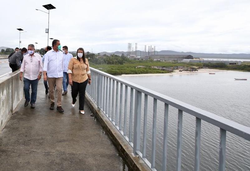 Entregues ponte e trecho de rodovia em Maragogipe nesta terça ...