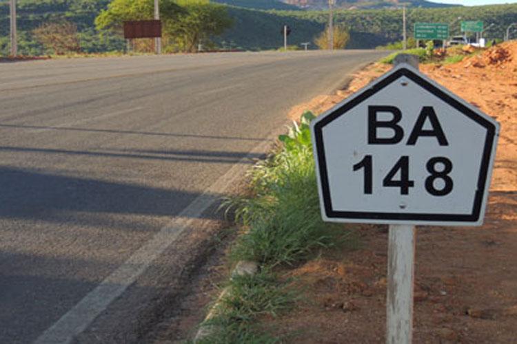 Recuperação de 58 quilômetros da BA-148 tem 90% das obras ...